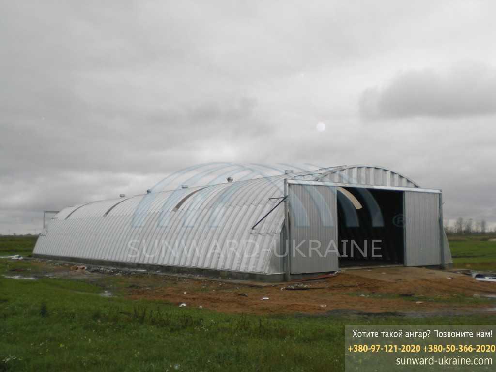 цена на ангары в украине
