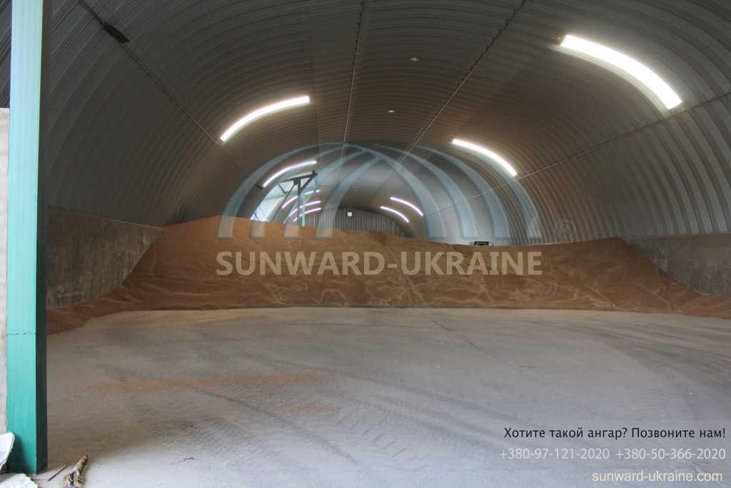 ангар-зернохранилище цена в днепропетровске
