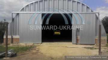 бескаркасные ангары от санворд-украина